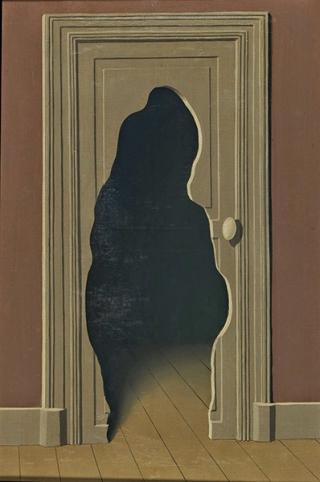 Magritte-porta-sagoma