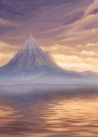 montagna-riflesso