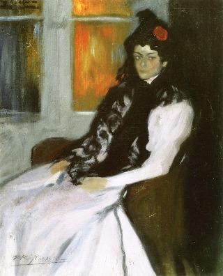 Picasso-donna-rosa