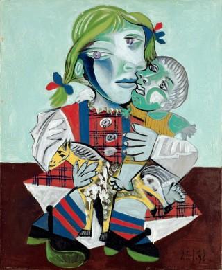 Picasso-Maya-pupa-cavallo