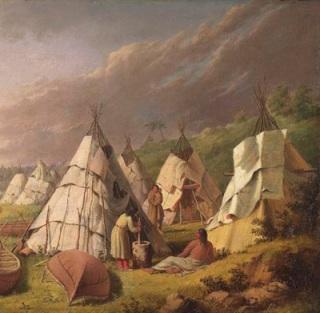 villaggio-indiano