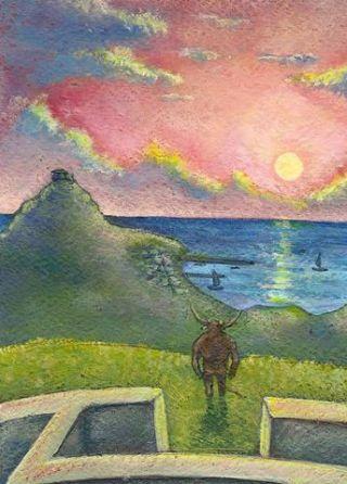 Minotauro-tramonto