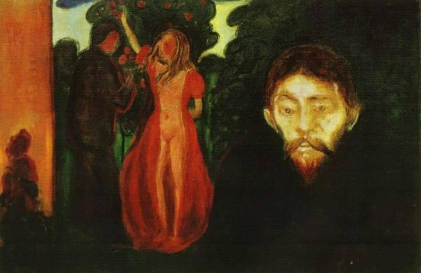 Munch-gelosia