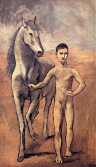 Picasso-ragazzo-cavallo
