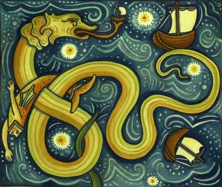Adolf Wölfli - serpente