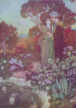 Dulac-arabian-lovers