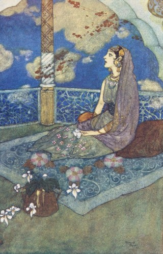 Dulac-arabian-woman