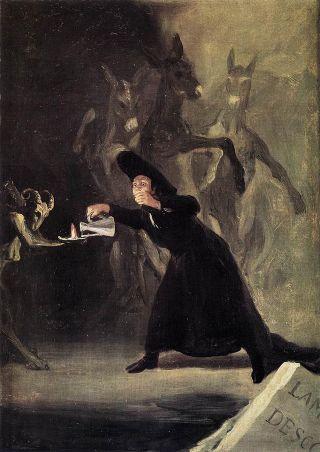 Goya-stregone
