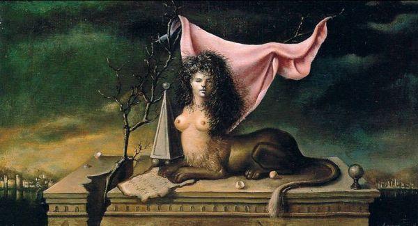 Leonor-Fini-Sfinge