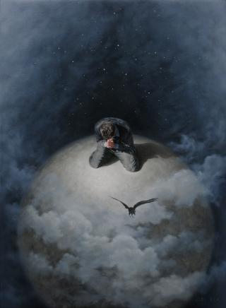uomo-preghiera-nuvole