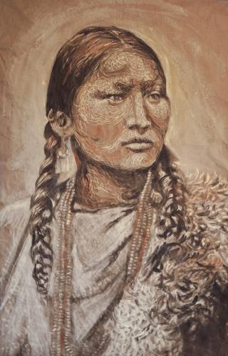 Arapaho-woman