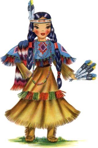 bambina-nativa-americana