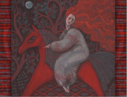 cavalla-donna-rossa