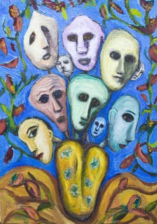 famiglia-maschere