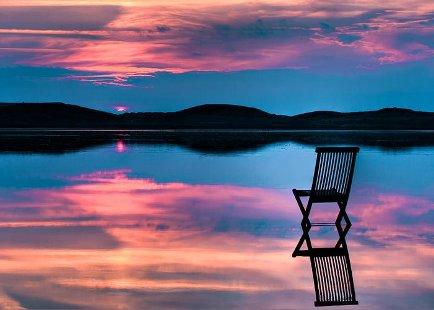 tramonto-sedia
