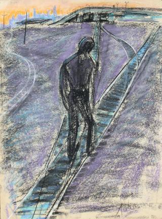 uomo-cammina-su-binari