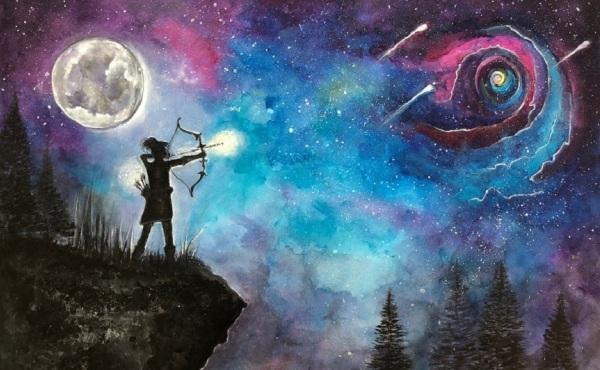 Arasteh-arco-freccia-stelle