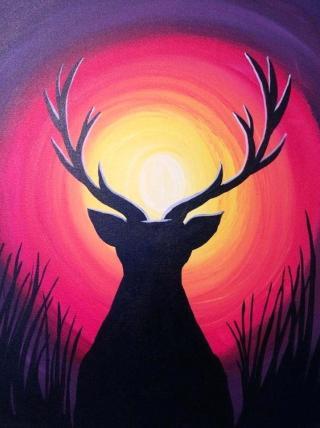 cervo-silhouette