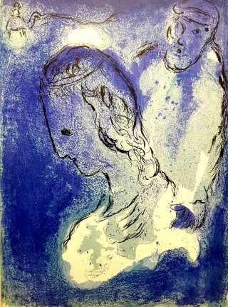 Chagall-blue-portrait