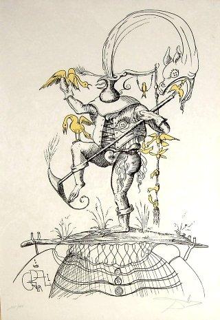 Dalì-Pantagruel-uccelli-gialli