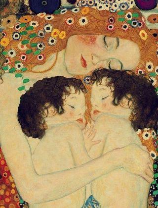 Klimt-mamma-gemelli