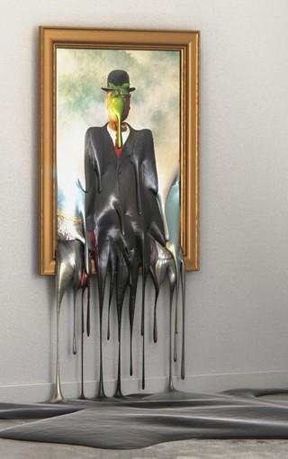 liquefazione-Magritte