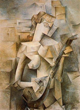 Picasso-donna-mandolino