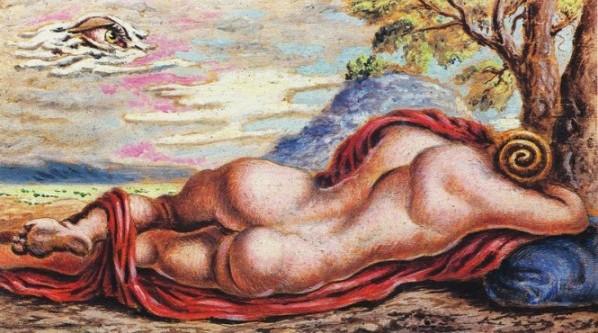 Savinio-riposo-ermafrodito