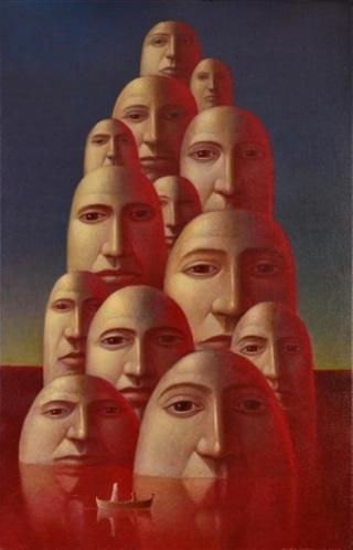 Underwood-donna-bianco-maschere