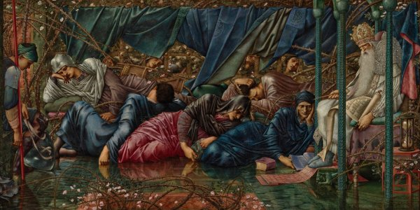 Burne-Jones-Artù-cavalieri-dormienti