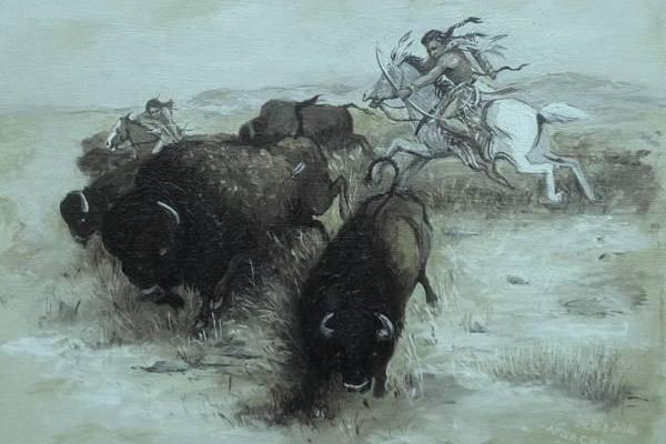 caccia-bisonte