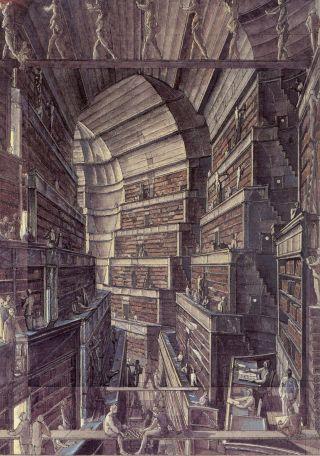 Desmazieres-biblioteca