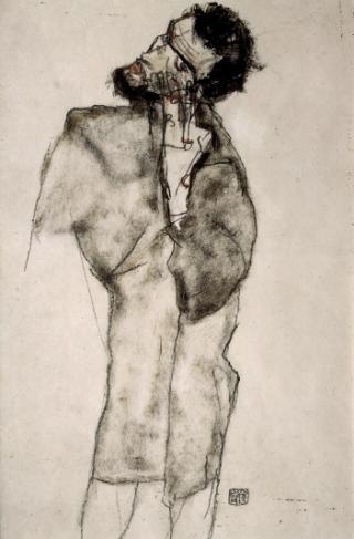 Egon Schiele-barbuto