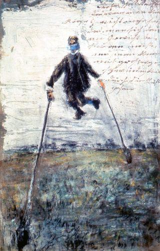 Forster-uomo-trampoli