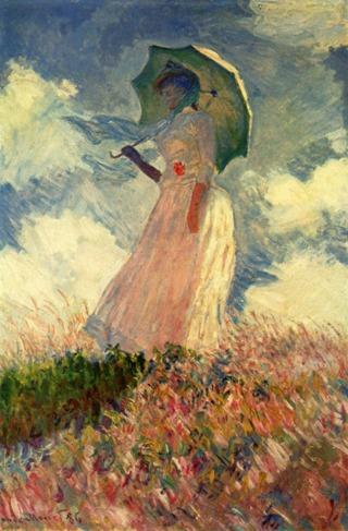 Monet-donna-con-parasole
