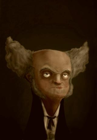 Schopenhauer-caricatura