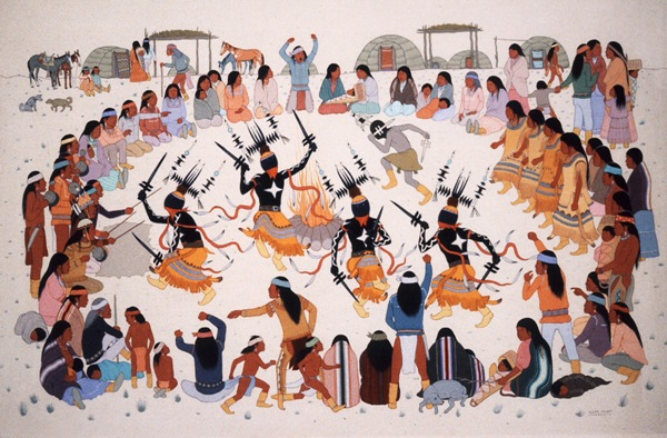 Apache-danza-tribù