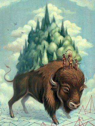 Ceccoli-bisonte