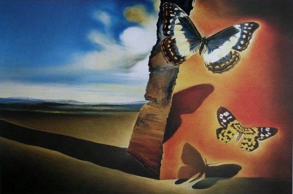 Dalì-passaggio-farfalle
