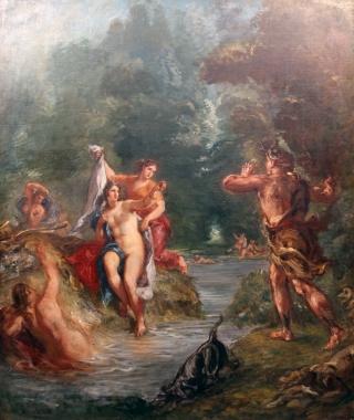 Delacroix-Diana-Atteone