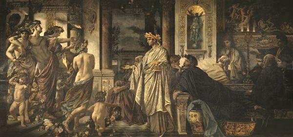 Feuerbach-Simposio-Platone