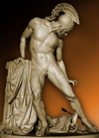 Fraccaroli-Achille-ferito-tallone
