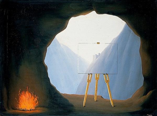 Magritte-caverna-Platone