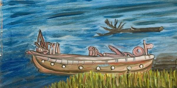 Pantaleone-tronco-piroga