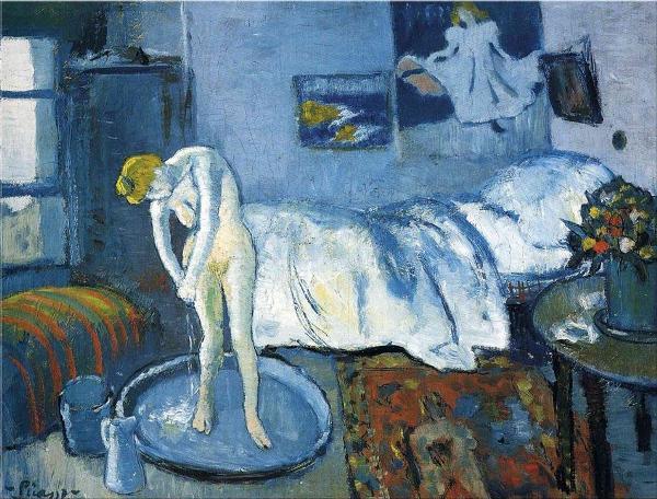 Picasso-stanza-blu