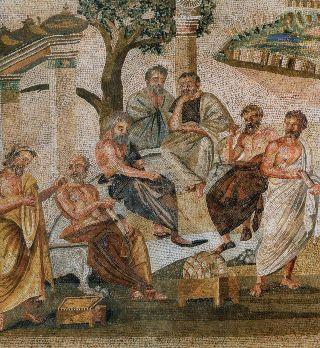 Platone-Accademia-mosaico-Pompei