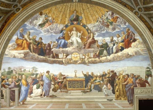 Raffaello-disputa-sacramento