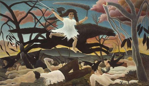 Rousseau-guerra