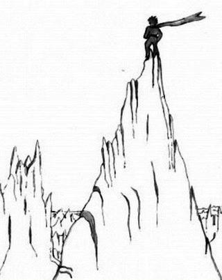 alpinista-disegno