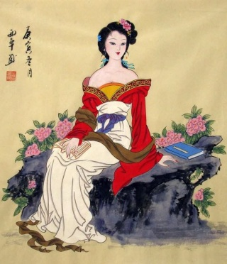 cinese-fanciulla-paint
